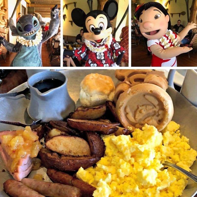 One of our favorite restaurants for breakfast at Disney World is 'Ohana.