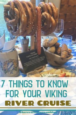 things to know for your Viking River cruise pin