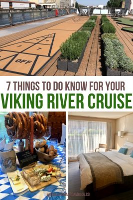 things to know for your Viking River cruise vacation pin