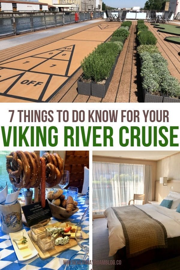 what to know on your Viking River Cruise