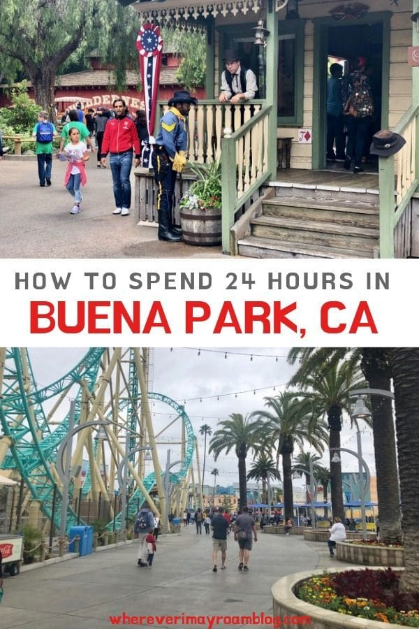 24 hours Buena Park pin