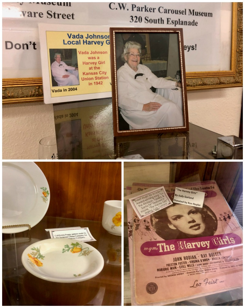 Harvey girls museum Leavenworth