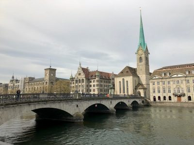 incredible scenery in Zurich