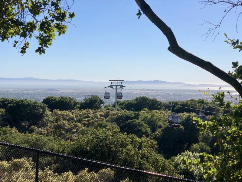 Oakland california zoo funicular ride