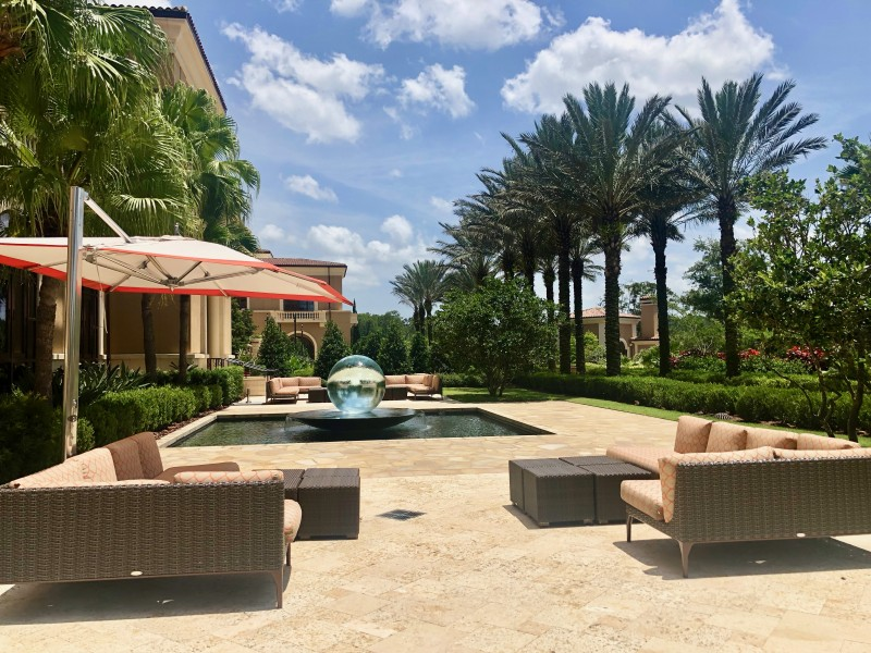 Four Seasons Resort Orlando outdoor seating group