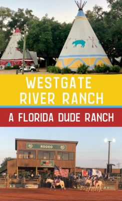 Westgate river ranch Florida dude ranch pin