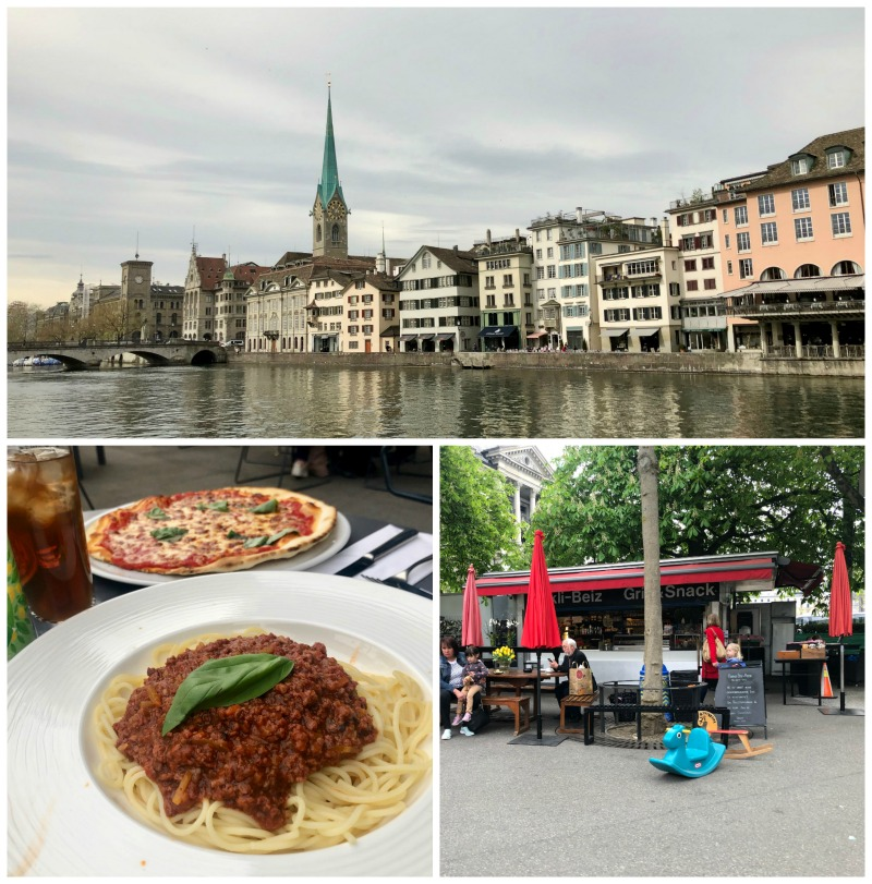 Zurich Switzerland restaurants and food