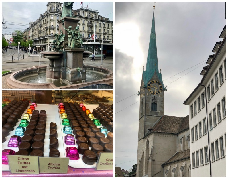 Zurich Switzerland walking tour