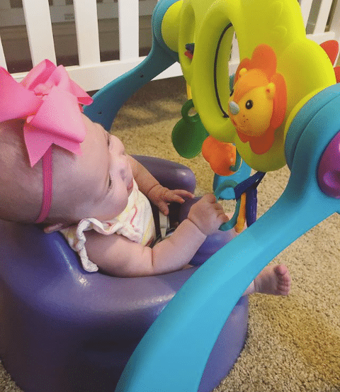 The Bumbo Stages Safari is our daughter's favorite toy.