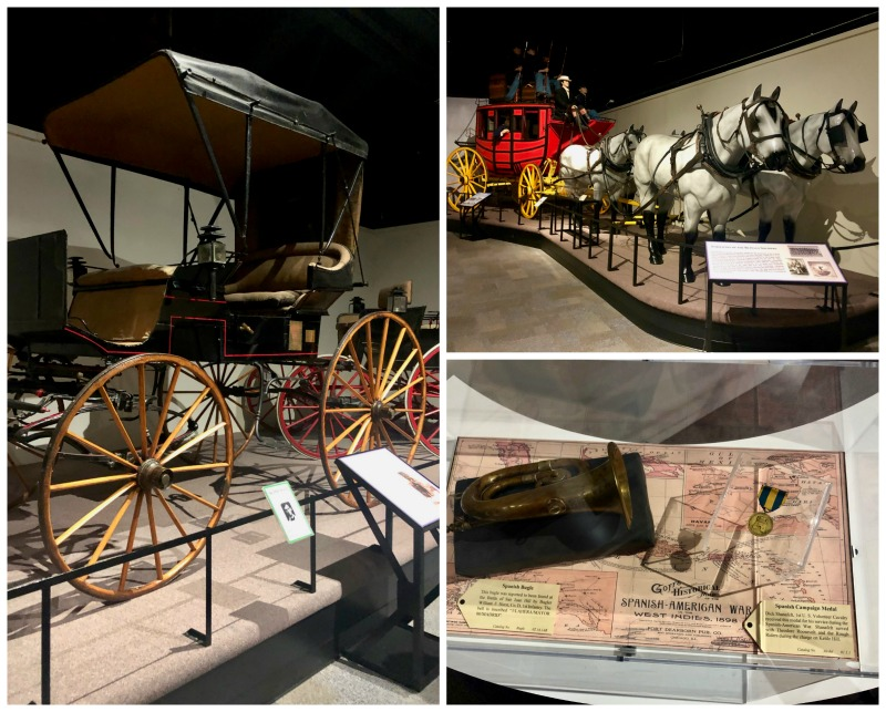 carriages at frontier army museum