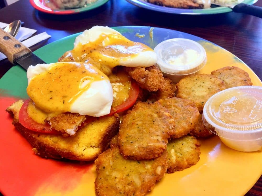 creole benedict from jan's place