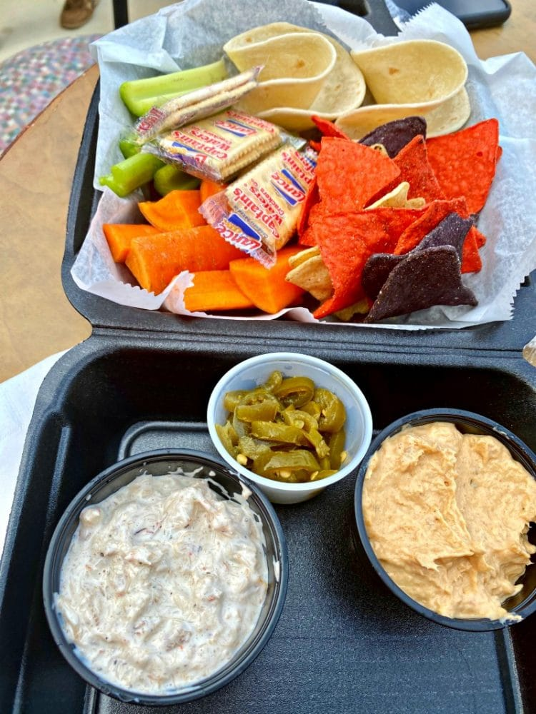 fish dip from mrs. peter's smokehouse