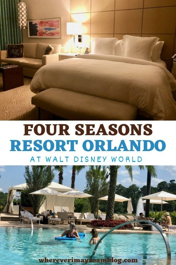 four seasons resort Orlando at Walt Disney World pin