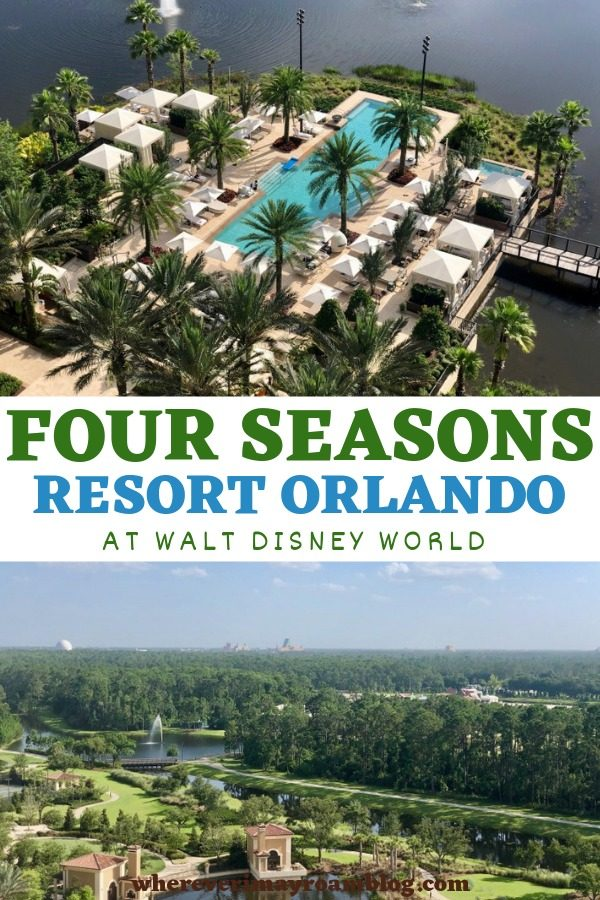 four seasons resort Orlando pin