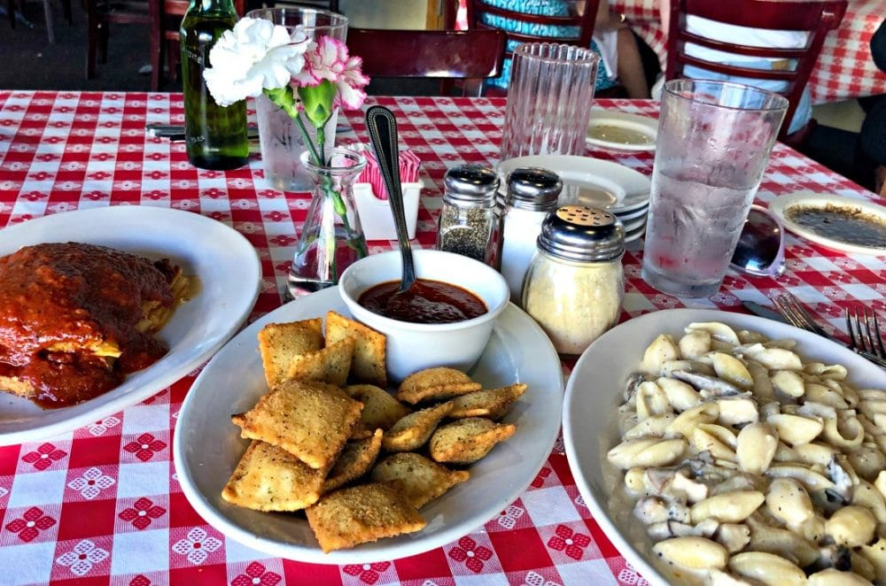 martinelli's toasted ravioli and pasta lunches