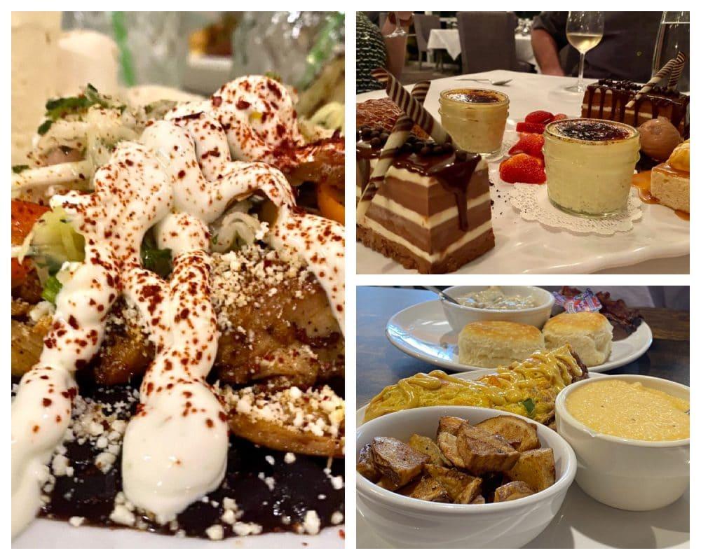 orange beach breakfast lunch and desserts