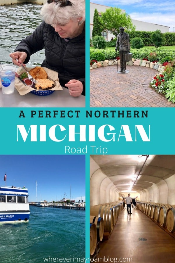 perfect Northern Michigan road trip