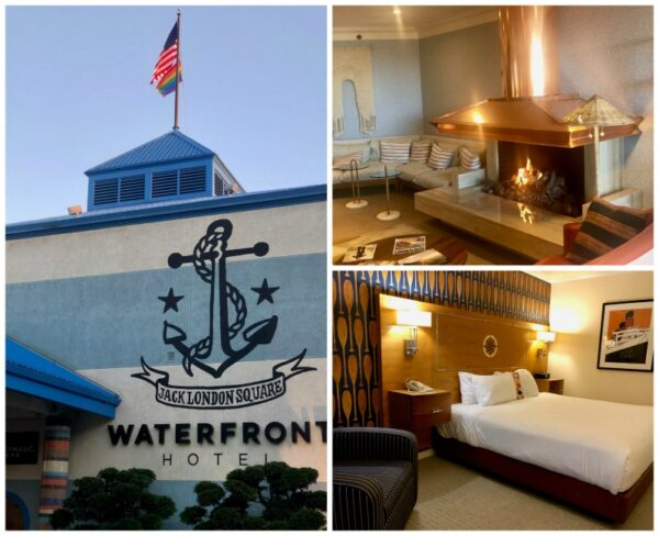 waterfront hotel Oakland california jack London square