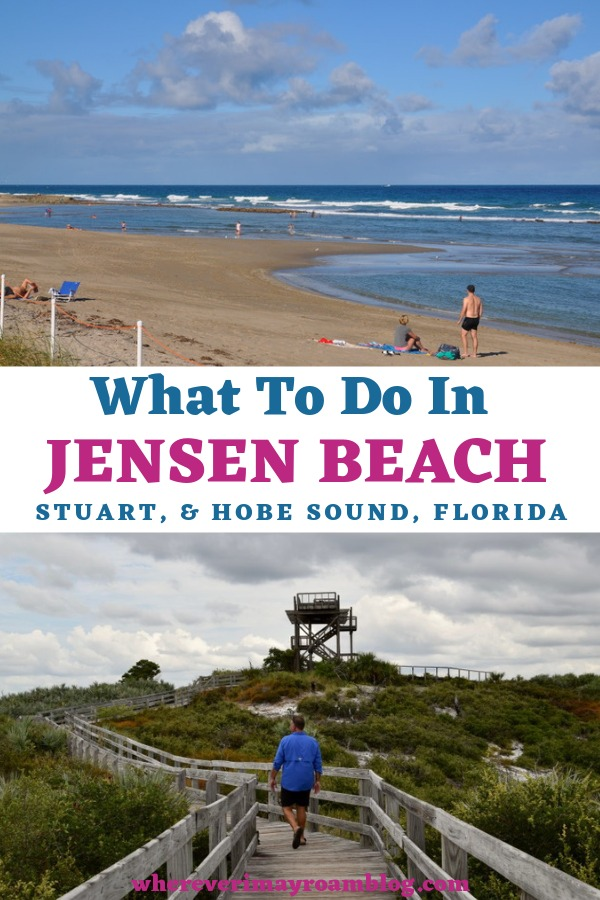 what to do in Jensen beach florida pin