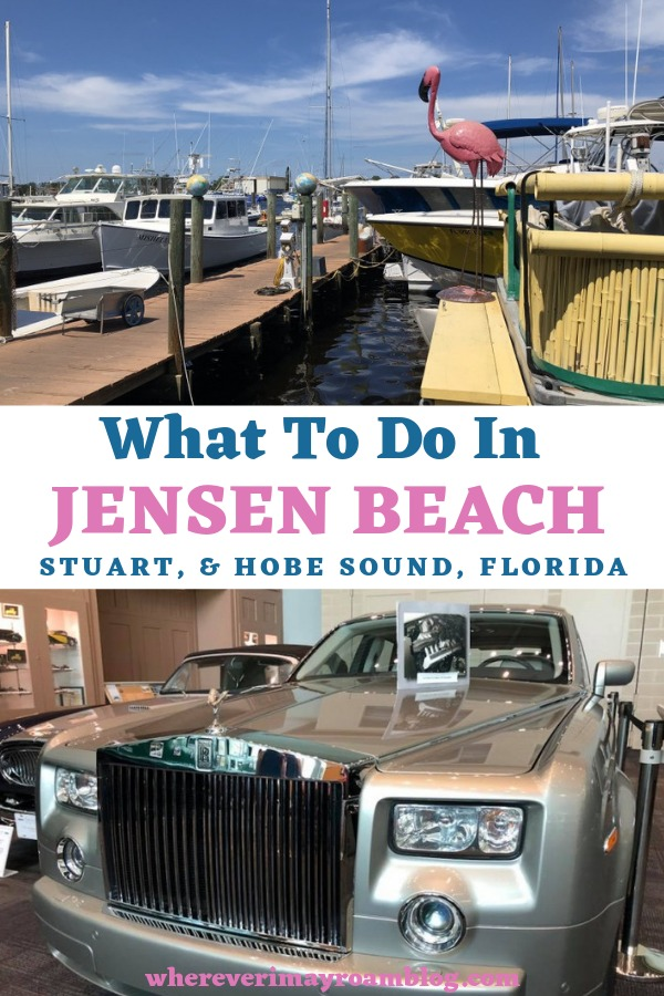 what to do in Jensen beach pin