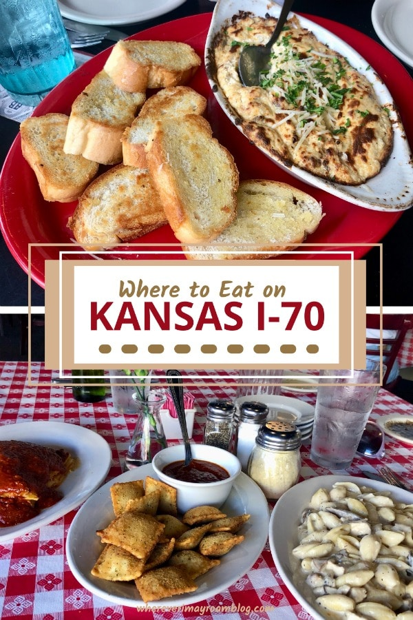 where to eat on kansas i-70 exits