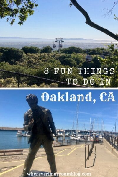 fun things to do in oakland California