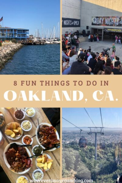 fun things to do in oaklandca