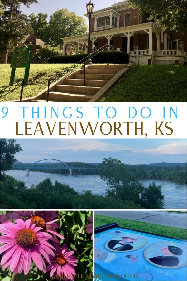 things to do in Leavenworth kansas pin