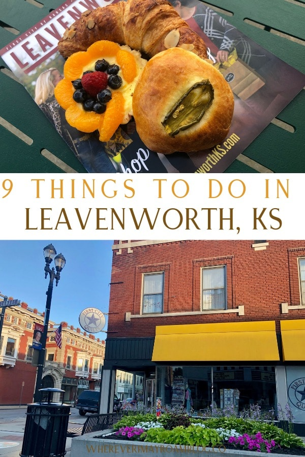 things to do in Leavenworth pin