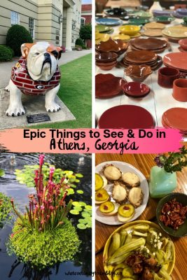 Epic Things to See & Do in Athens, Georgia