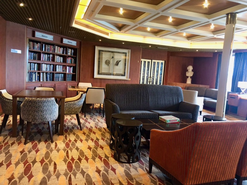 holland america library
