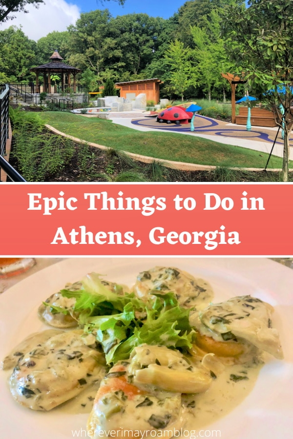 Wonderful things to see and to do in Athens, Georgia