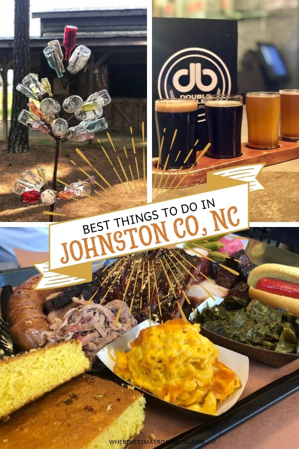 best things to do in Johnston County pin