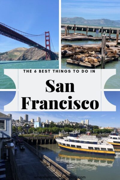 best things to do in San Francisco pin