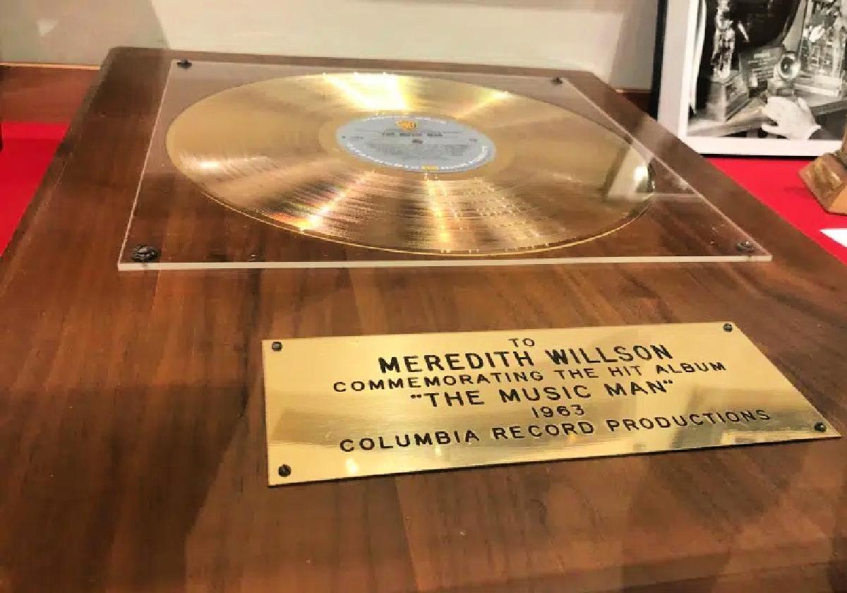 music man gold record