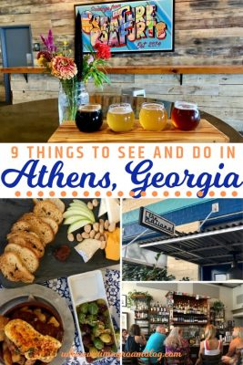 things to do in Athens Georgia pin