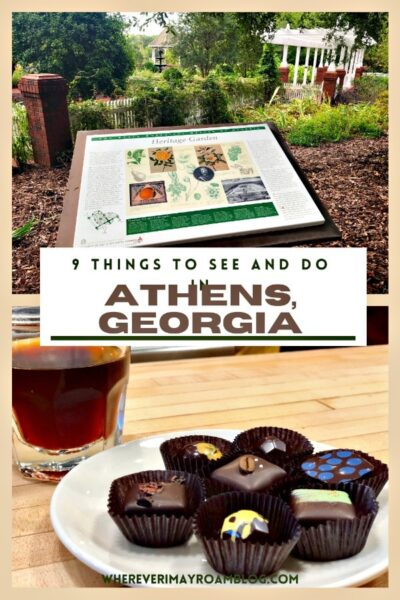 things to see and do in Athens, ga