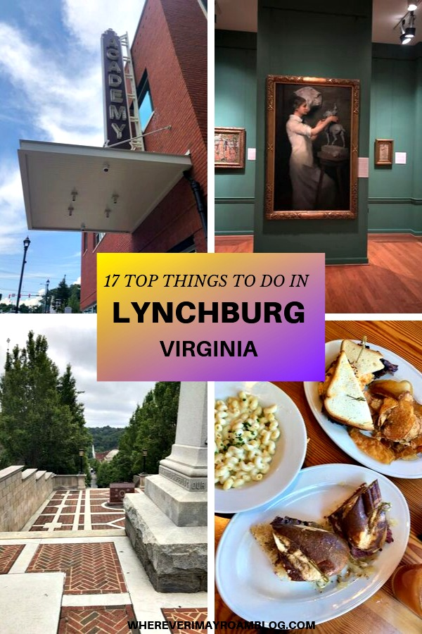top things to do in lynchburg va pin