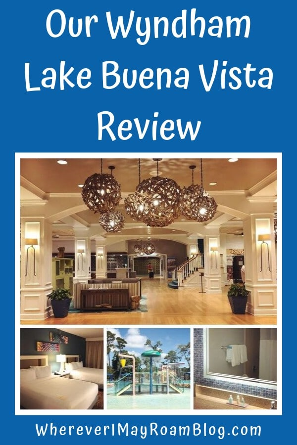 Wyndham lake buena vista review Orlando pin