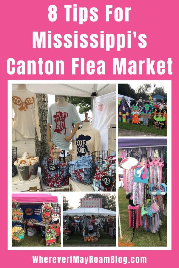 Canton Flea Market pin