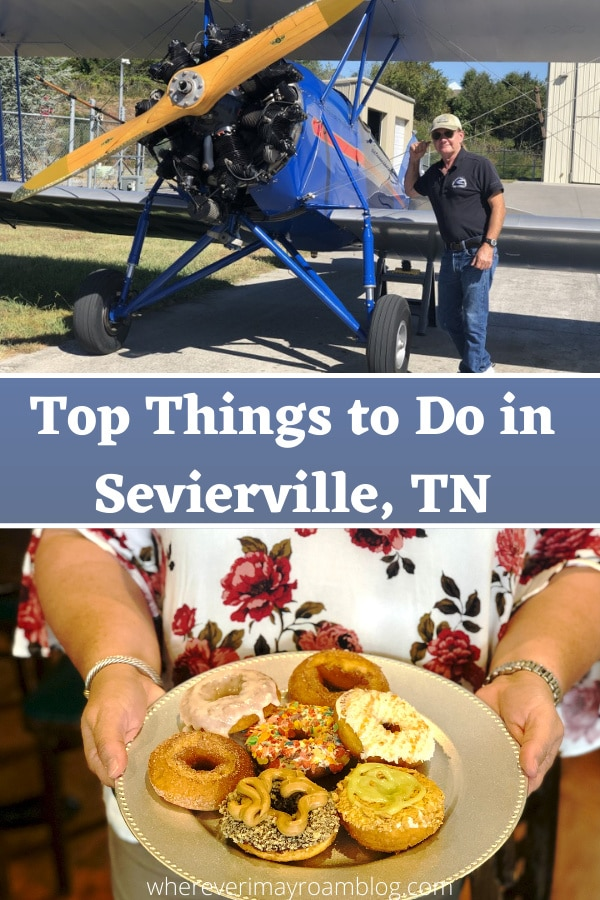 sevierville doughnuts and biplane