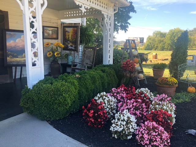 sevierville fall decorations