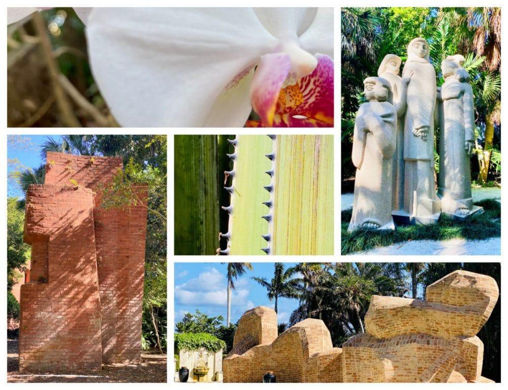 ann Norton garden sculptures and plants