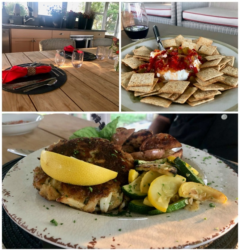 dinner-and-appetizers-tusculum-farm