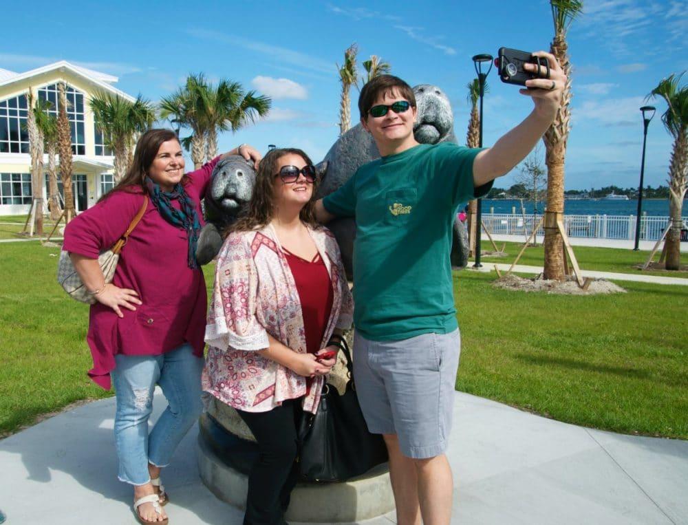 selfie trail the palm beaches