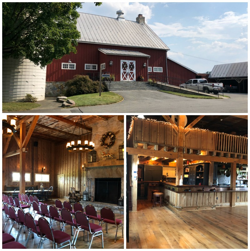 the barn at tusculum farms Maryland