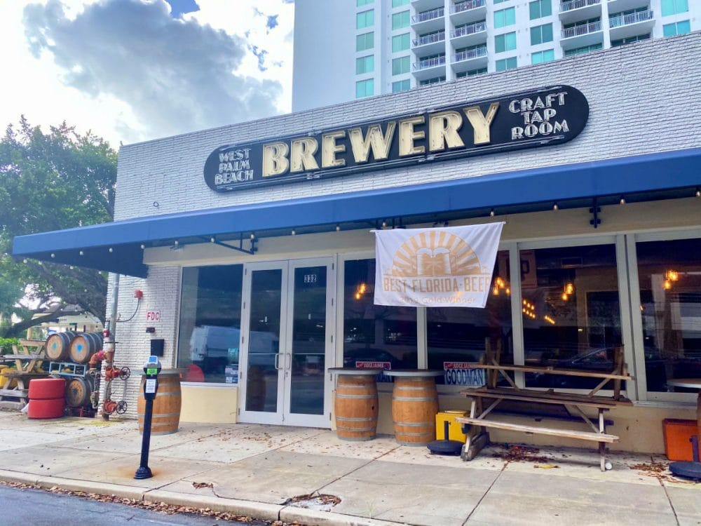 west palm beach brewery front view