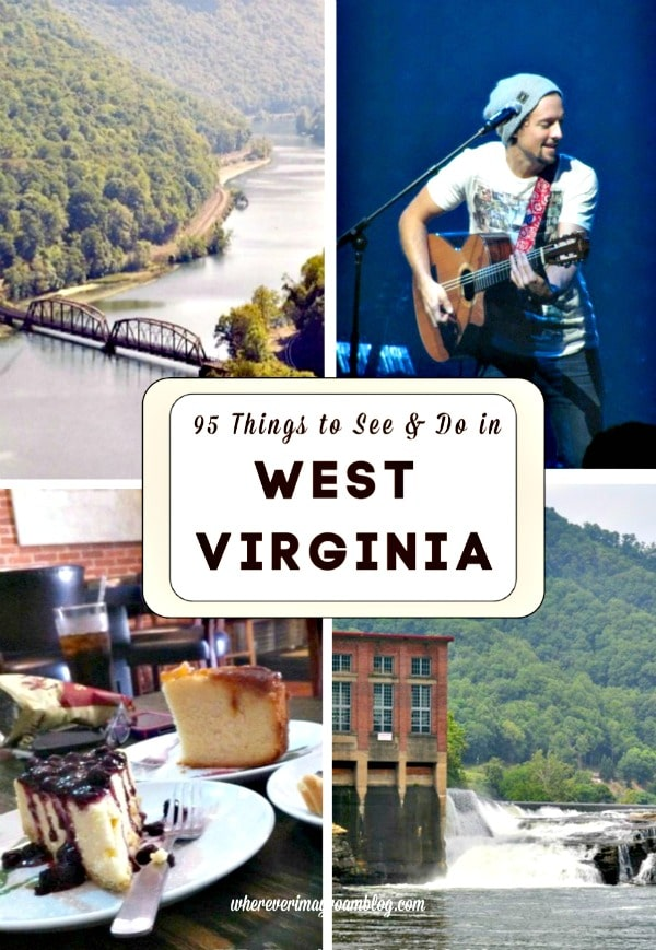 95 things west virginia
