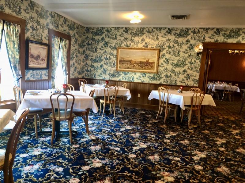 Brookville Hotel restaurant abilene kansas