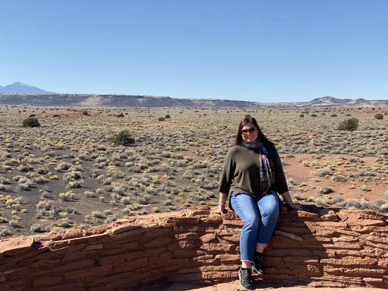 visiting wupatki national monument arizona